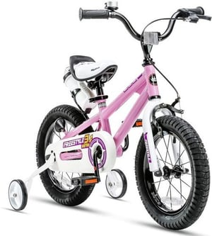 Kids Freestyle Bicycle 12 14 16 Inch with Training Wheels