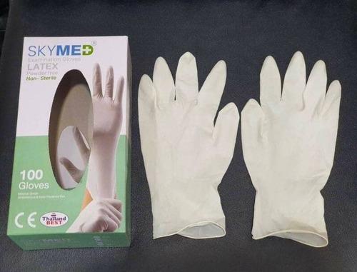 Non Sterile Latex Examination Gloves