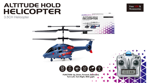 2.4G Fixed Altitude Hold Helicopter