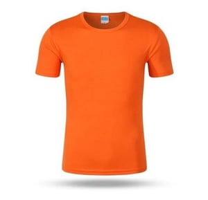 Mens Polyester Round Neck T-Shirts