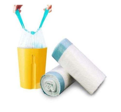 Fine Finish Plastic Garbage Bags