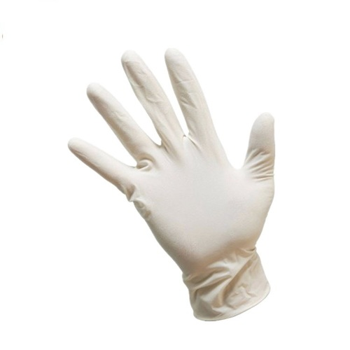 White Vinyl Disposable Hand Gloves