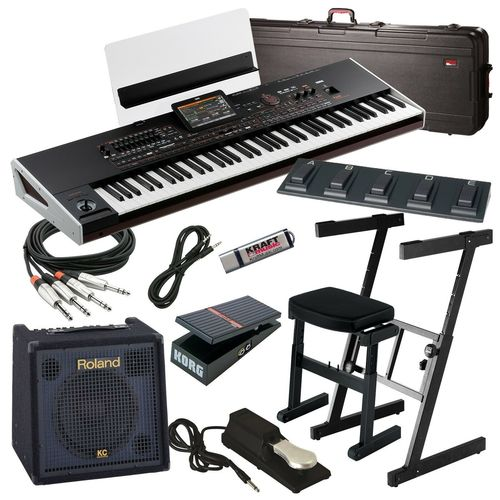 Professional Arranger Workstation Keyboard With Speaker System