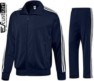Mens Polyester Winter Tracksuit