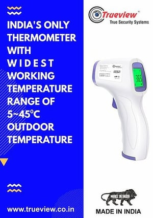 Contactless Digital Infrared Thermometer