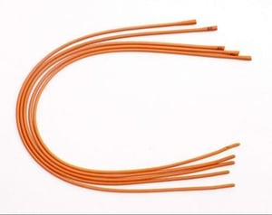 Disposable Red Rubber Catheter