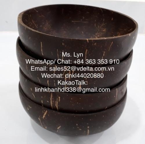 Eco Friendly Natural Handmade Coconut Bowls