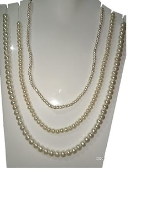 Offwhite Glass Pearl for Making Jewelry