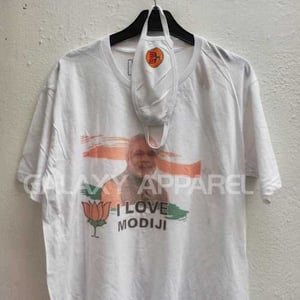 Political Printed T shirts with Mask