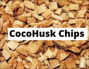 Brown Coco Husk Chips
