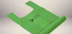 Corn Starch Compostable Carry Bag