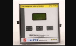 Earth Leakage Current Relay