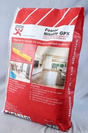 Nitotile GPX Adhesive Pack