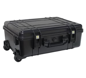 Plastic Equipment Box with Trolley