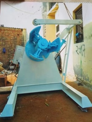 Hydraulic Decoiler for Industrial Use