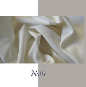 Notts Ribbed Poly Fabric