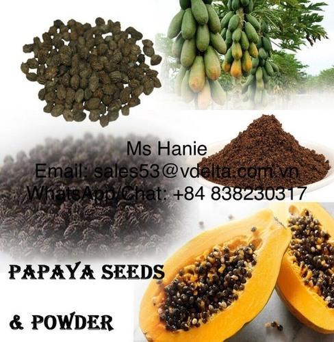 High Quality Dried Papaya Seed, Papaya Seed Powder