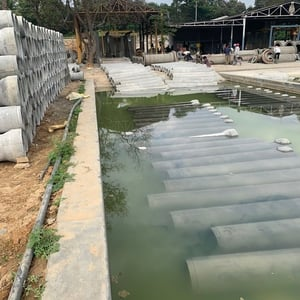 Round Shape Cement Pipes
