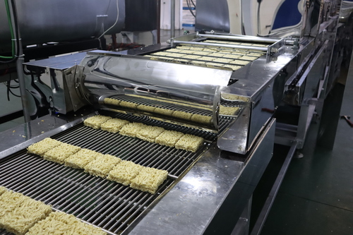 High Efficiency Automatic Fried Instant Noodle Machine