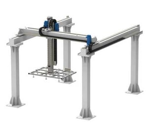 3 To 8 Axis Gantry Robots For Industrial Purpose