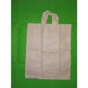 Stitched Loop Handle Cotton Bags