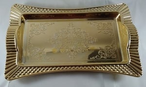 Fast Food Gold Tray