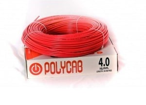 Polycab 4 SQMM Electrical Insulated Wires
