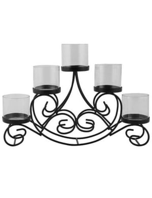 Pure Metal Candle Holder