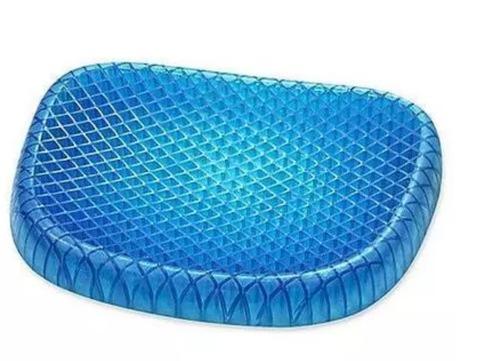 Blue Silicone Chair Cushion