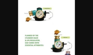 Domestic LPG Gas Brass Safety Device