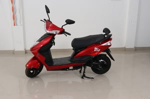 Red New Electric Scooter