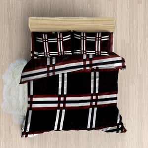 Printed Woolen Bedsheets With Pillow Cover