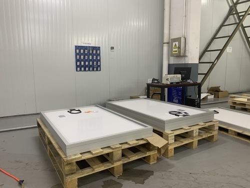 Split Manipulator Station Of Solar Module Production Line