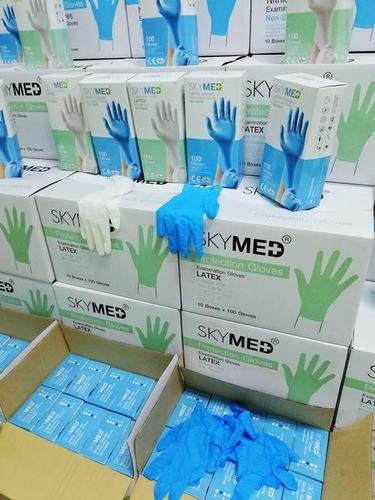 Skymed Latex Examination Gloves