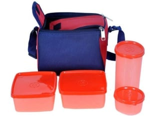 Plastic Topware Insulated Carry Bag Lunch Box