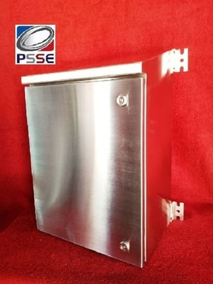 Fine Finishing Stainless Steel Enclosure