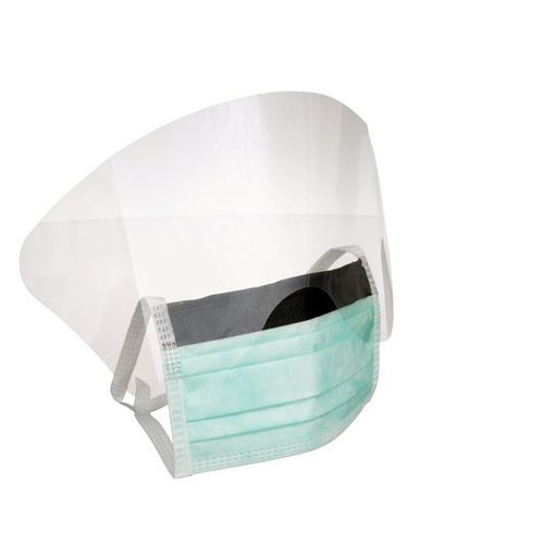3M 1835FS High Fluid Resistant Surgical Mask With Face Shield