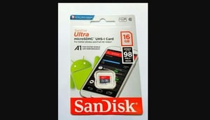 SanDisk Micro SD 16GB Mobile Memory Cards