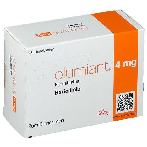 Olumiant 4 mg Film-Coated Tablets (Baricitinib)