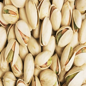 Pistachio Nuts With And Without Shell
