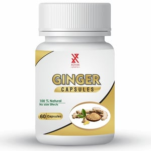 Natural And Herbal Ginger Capsules For Gas