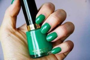 Color Coated Nail Paint