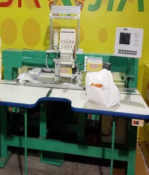 Industrial Sequins Embroidery Machine