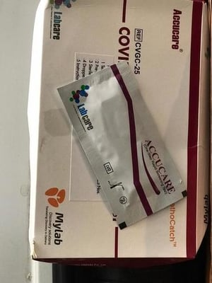 Accucare Covid-19 AG Test Kit