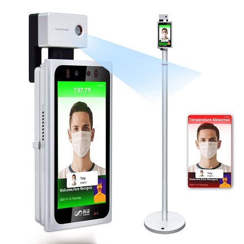 Non-Contact Facial Recognition Thermometer