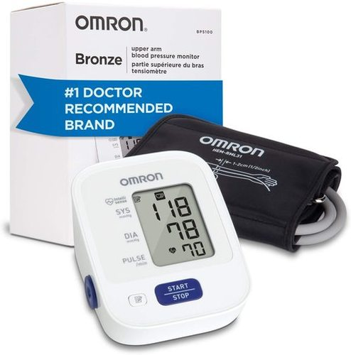 Omron Bronze Blood Pressure Monitor