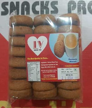 Crunchy And Crispy Osmania Biscuits