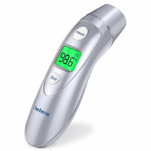 Infrared Digital Thermometer for Fever, Ear Thermometer for Adults and Kids