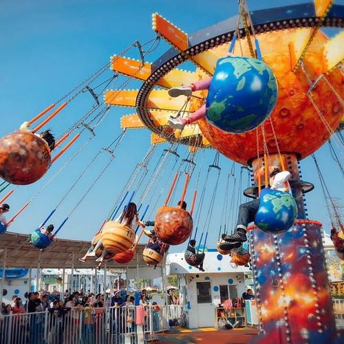 Fruit Flying Chair Ride HFSF01 Hotfun Amusement Rides