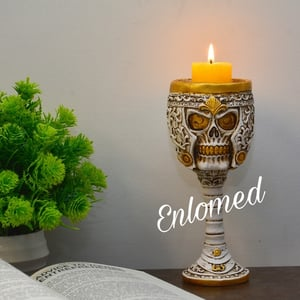 Marble Candle Stand for 1 Candle